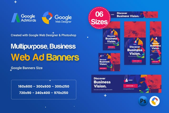Thumbnail for Multi-Purpose Banners HTML5 D68 - GWD & PSD