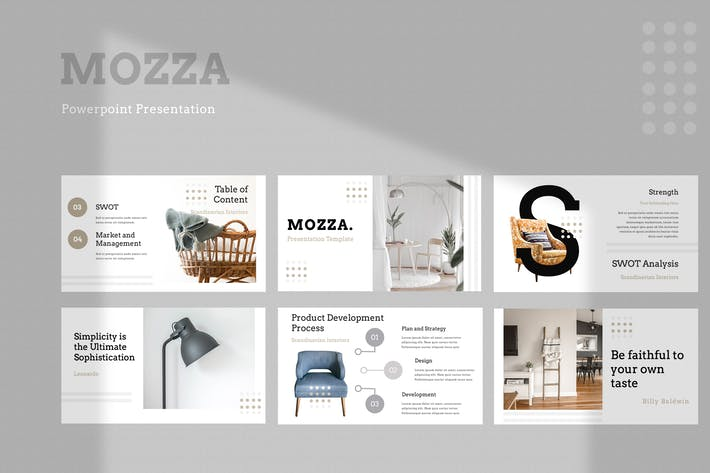Mozza Furniture Powerpoint Presentation