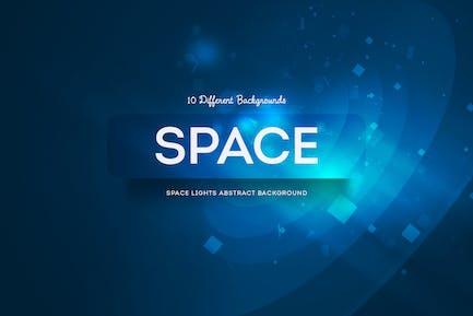 Space Lights Abstrakte Hintergründe