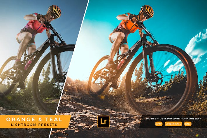 Thumbnail for Orange and Teal Lightroom Presets