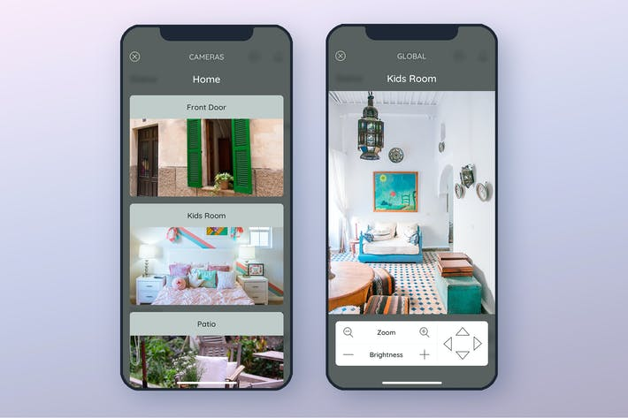 Thumbnail for Camera Smarthome Mobile UI - FP