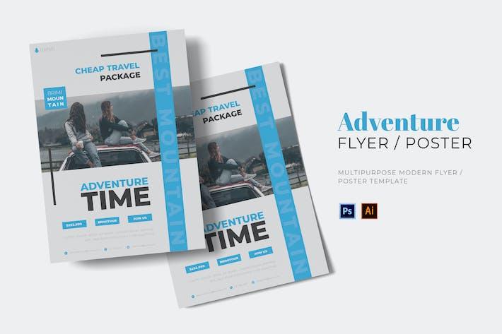 Adventure Time Flyer