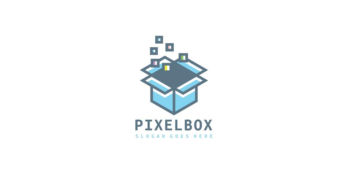 Download Pixels Box Logo by 3ab2ou
