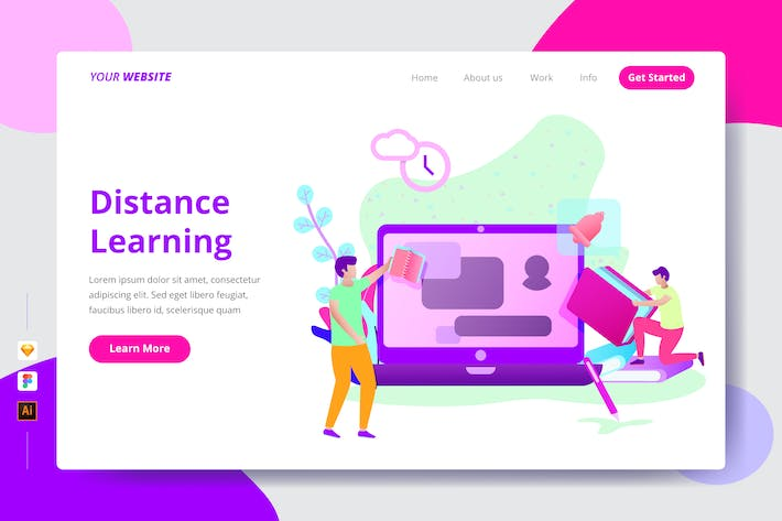 Thumbnail for Distance Learning - Landing Page