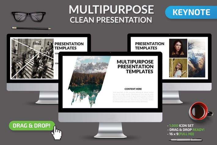 Thumbnail for Multipurpose Keynote Presentation