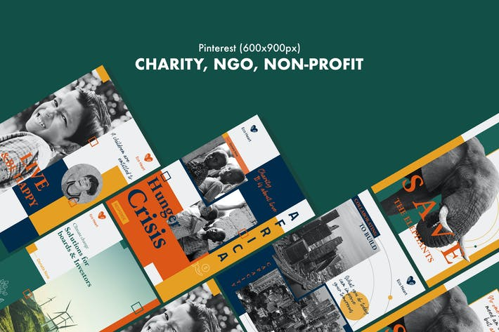 Thumbnail for Charity, NGO, Non-Profit Pinterest