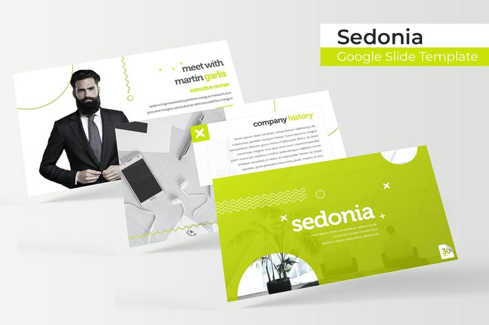Thumbnail for Sedonia - Google Slide Template