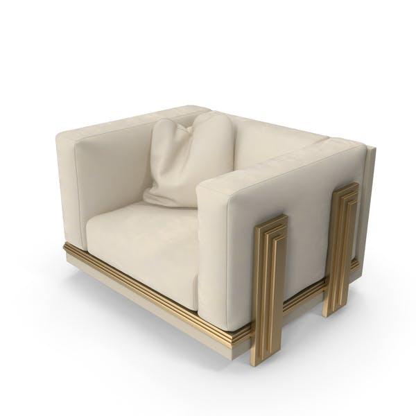 Thumbnail for Beige Sofa Armchair