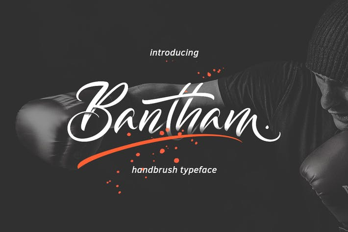 Cover Image For Bantham Typeface