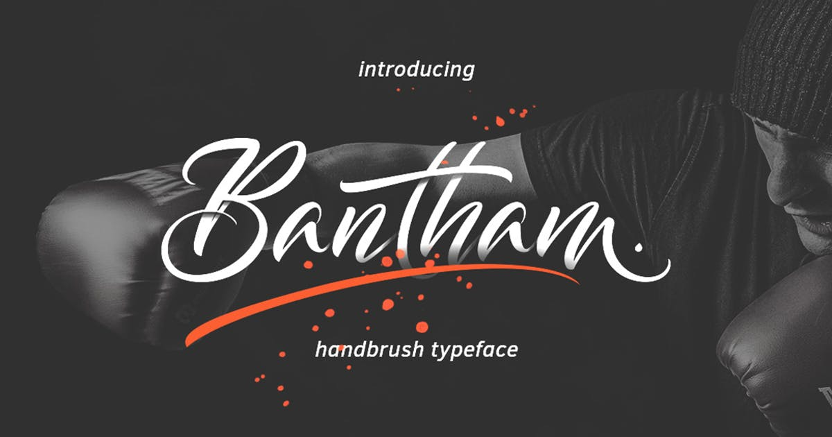 Download Bantham Typeface by thirtypath