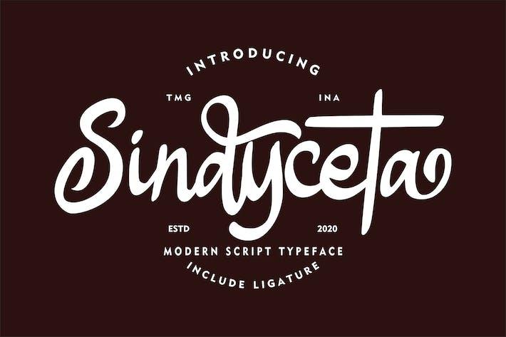 Thumbnail for Sindyceta Modern Script