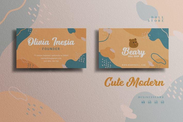 Thumbnail for Cute Modern Theme - Doll Store Businesscard