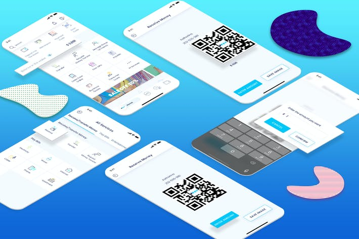 Thumbnail for Receive Money - Wallet Mobile UI - FP