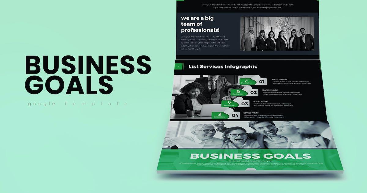 Download Business Goals  Google Slides by Jhon_D_Atom