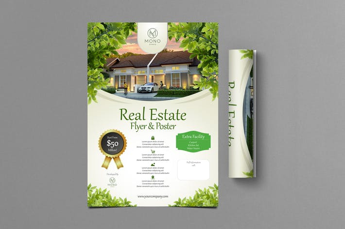 Thumbnail for Real Estate Flyer 1