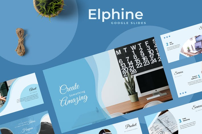 Thumbnail for Elphine Google Slides