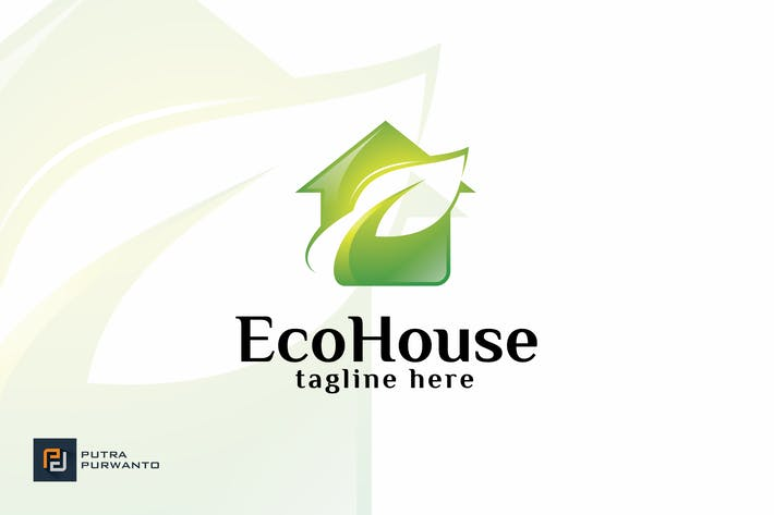 Thumbnail for Eco House - Logo Template
