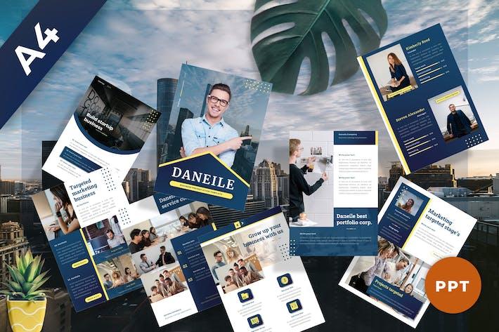 Daneile - Business Powerpoint Template