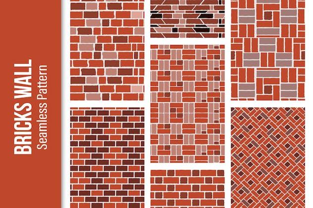 Brick Seamless Pattern