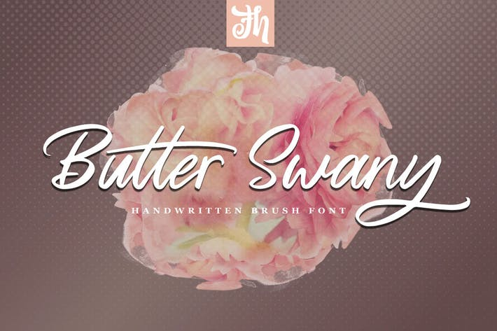 Thumbnail for Butter Swany - Handwritten Font