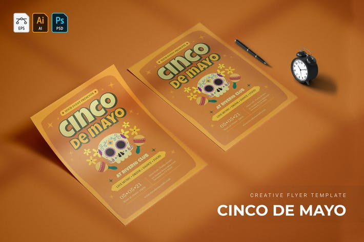 Thumbnail for Cinco de Mayo | Flyer