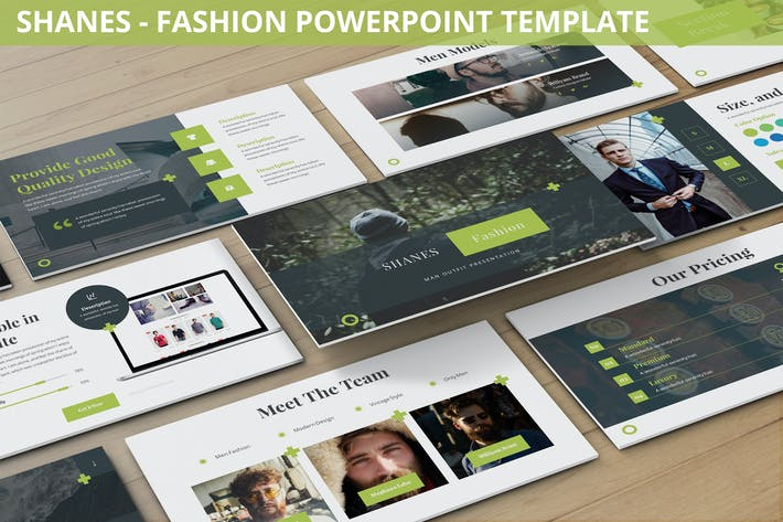 Thumbnail for Shanes - Fashion Powerpoint Template