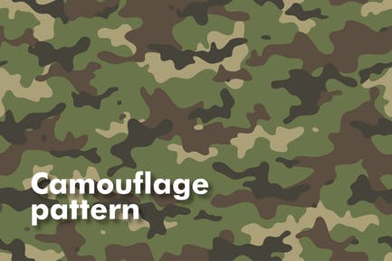 Nahtlose Camouflage-Muster