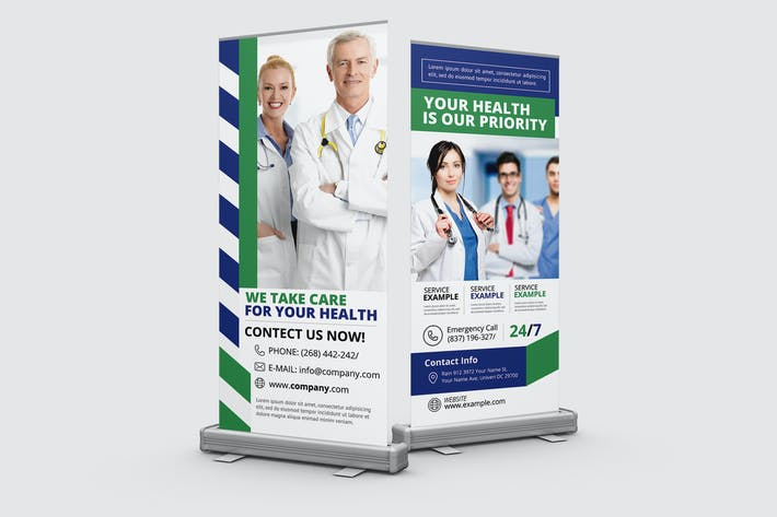 Doctor Roll-up Banner