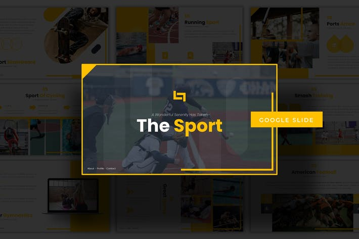 Thumbnail for The Sport - Google Slides Template