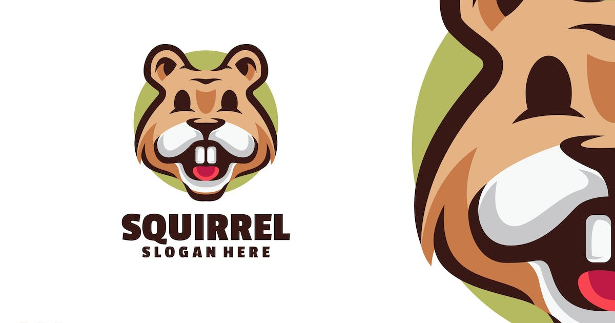 Download Squirrel Logo Design Template by Ary_Ngeblur