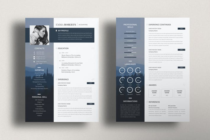 Thumbnail for Business Creative Resume CV