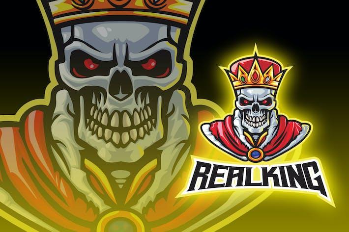Thumbnail for Undead King Esport Logo