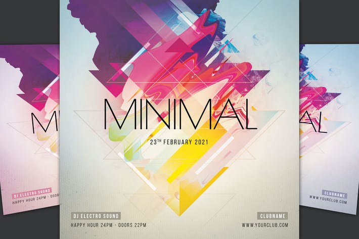 Thumbnail for Minimaler Flyer