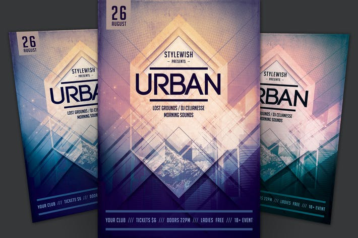 Cover Image For Urban Flyer