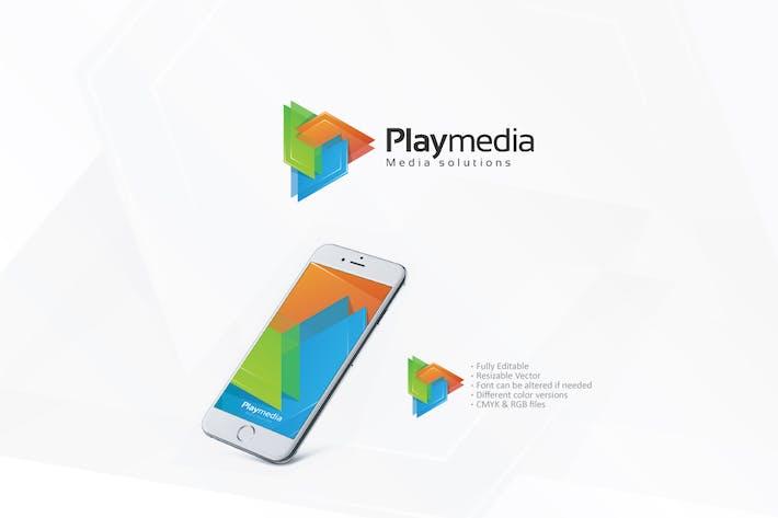 Thumbnail for Play Media Logo