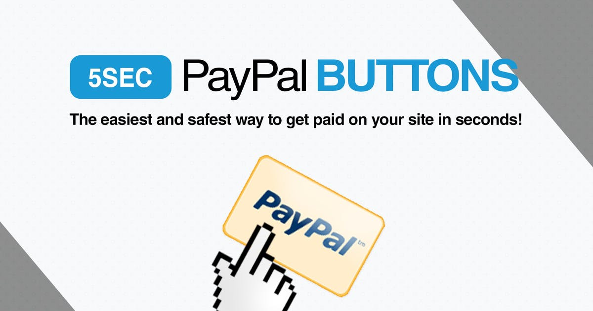 Download 5sec PayPal Buttons by WebFactory