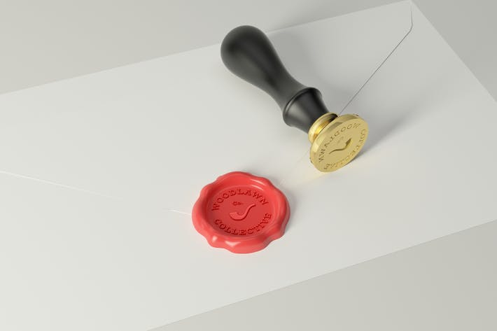 Thumbnail for Wax Seal Stamp Photoshop Mockups