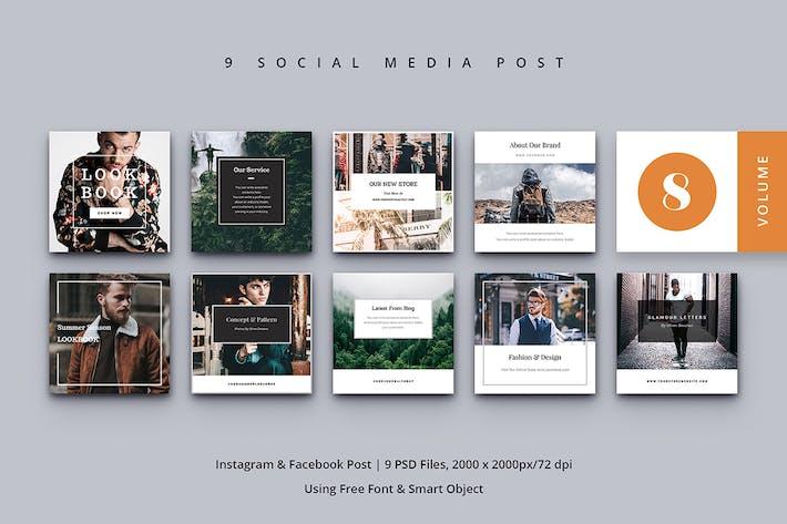 Thumbnail for Social Media Post Vol. 8