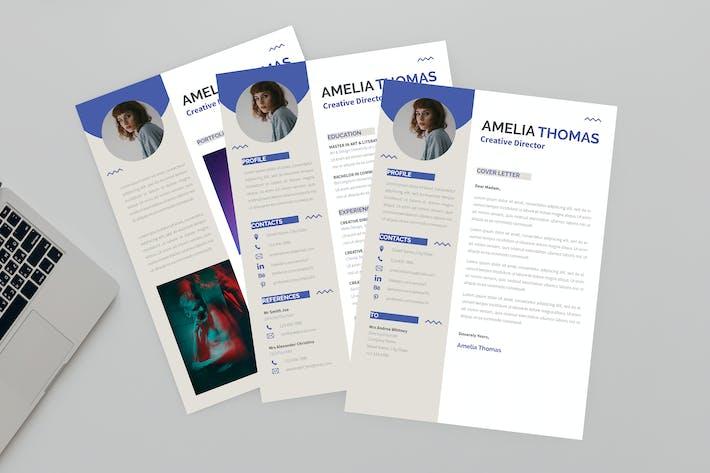 Thumbnail for Cocksure CV Resume Designer