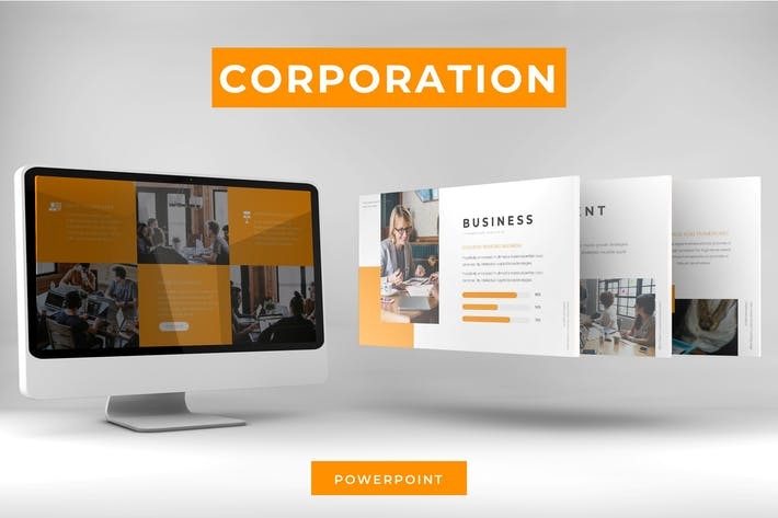 Thumbnail for Corporation - Powerpoint Template
