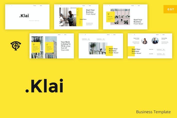 Cover Image For Klai Business - Google Slides