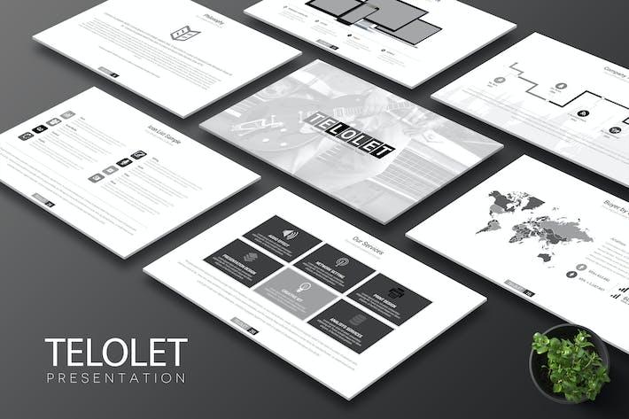 Thumbnail for Telolet - Keynote Template