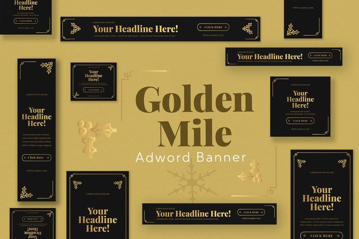 Thumbnail for Gold Mile Ad Word