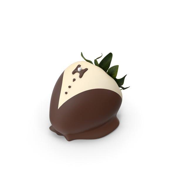Шоколад Крытый Клубника