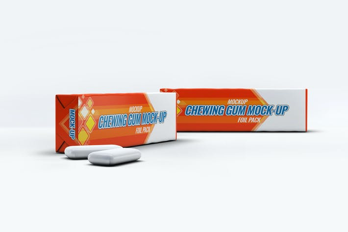 Thumbnail for Chewing Gum Package Mock-Up