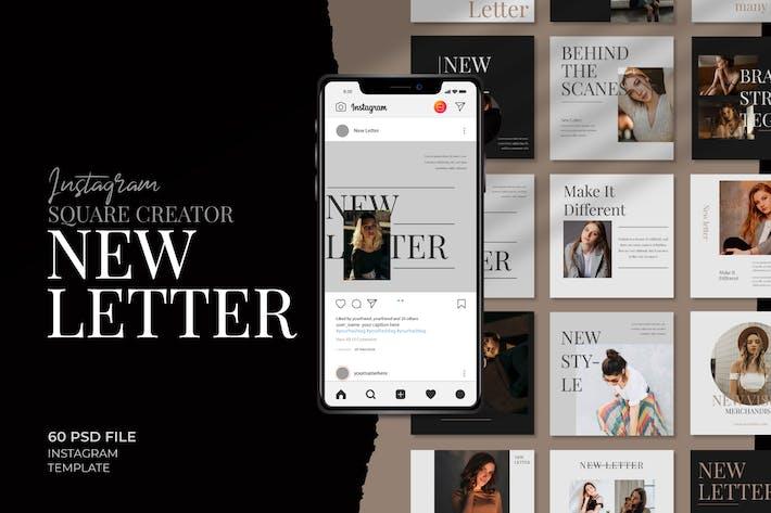 Thumbnail for Newletter - Instagram square creator