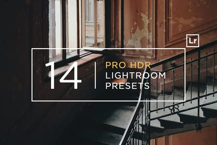 14 Pro HDR Lightroom Presets Part 2