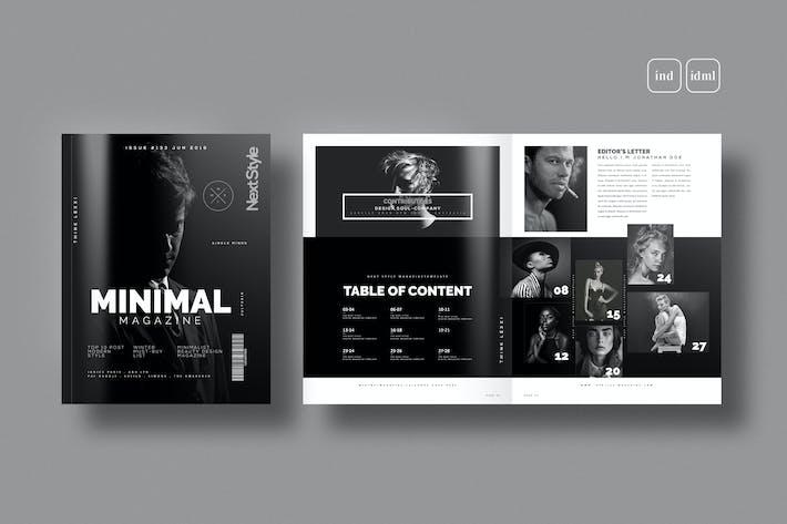 Thumbnail for Magazine de style minimal