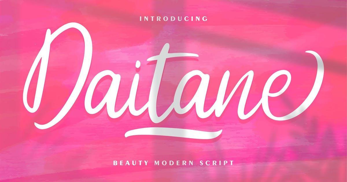 Download Daitane   Beauty Modern Script by Vunira