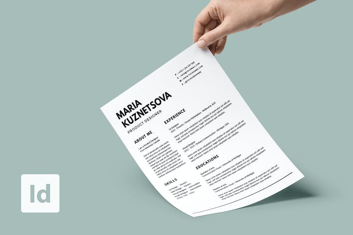 Thumbnail for Minimalist Resume